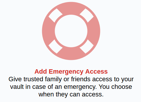Lastpass Emergency Access